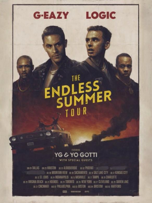 G-Eazy, Logic, Yo Gotti & YG