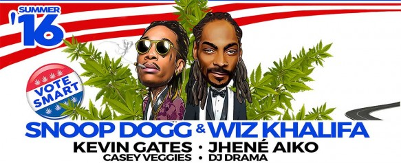 Snoop Dogg, Wiz Khalifa, Kevin Gates & Jhene Aiko